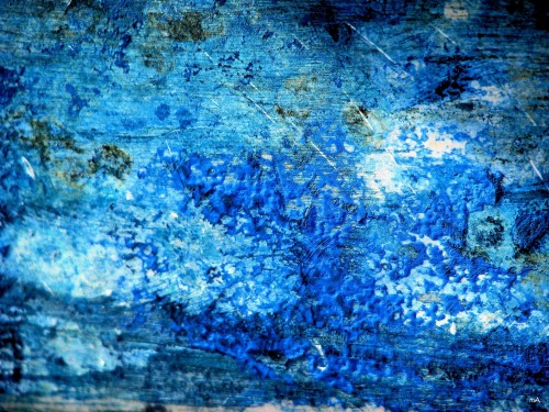 Water Colors Blue No 3