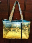 melissaAnne Water Colors:  Sea Cave Tote